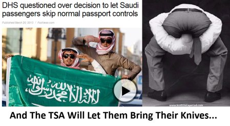 TSA To Favor Saudi Travelers...